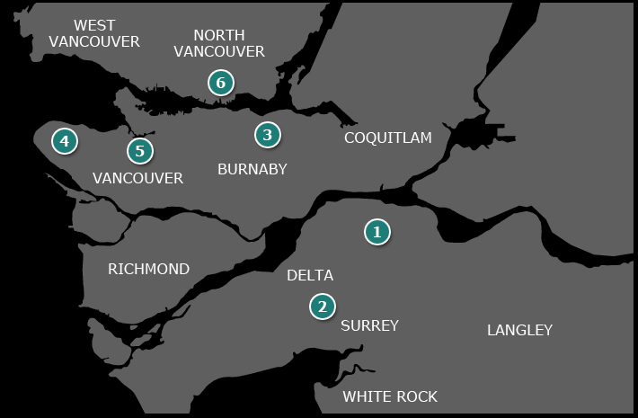 Townhome Developments with the Lower Mainland and Vancouver